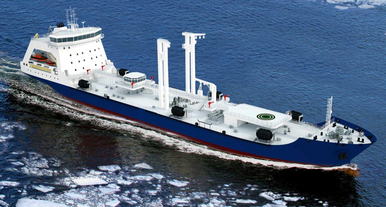 Средний морской танкер проекта 23130