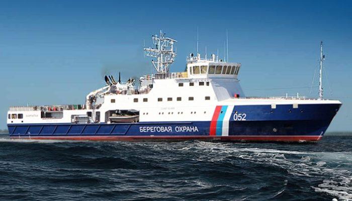 Патрульное судно ледового класса Камчатка